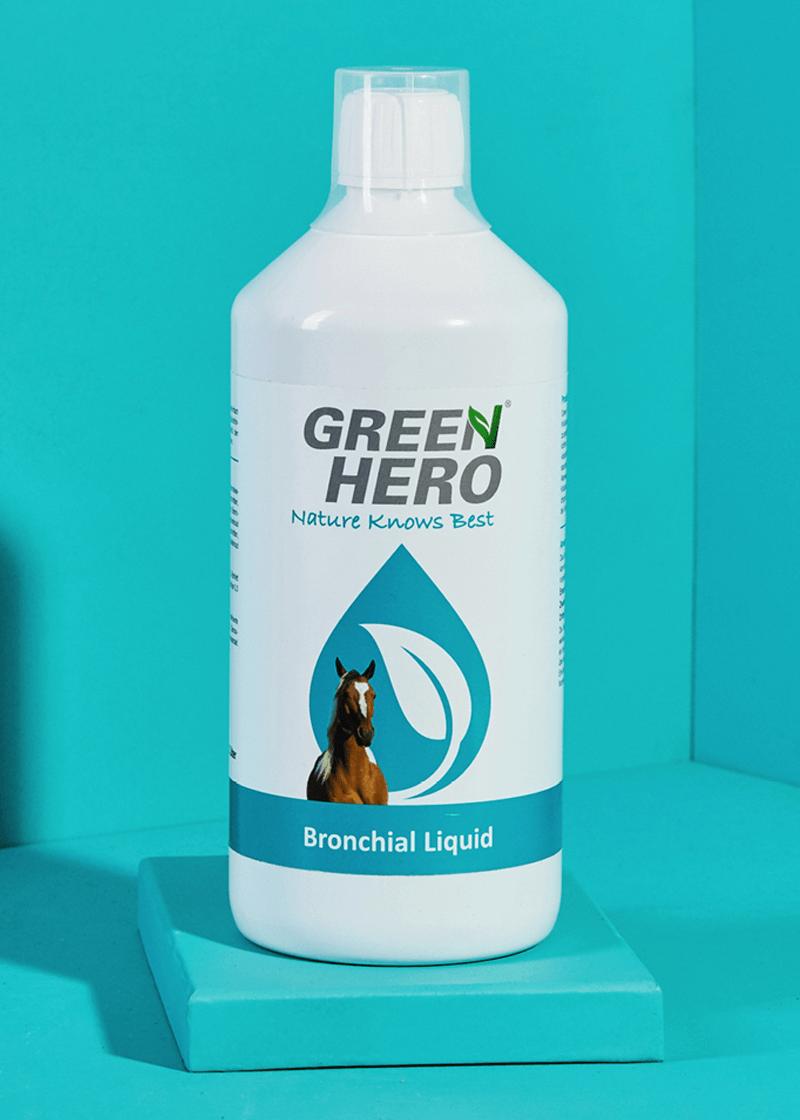Bronchial Liquid für Pferde mit Kräutern