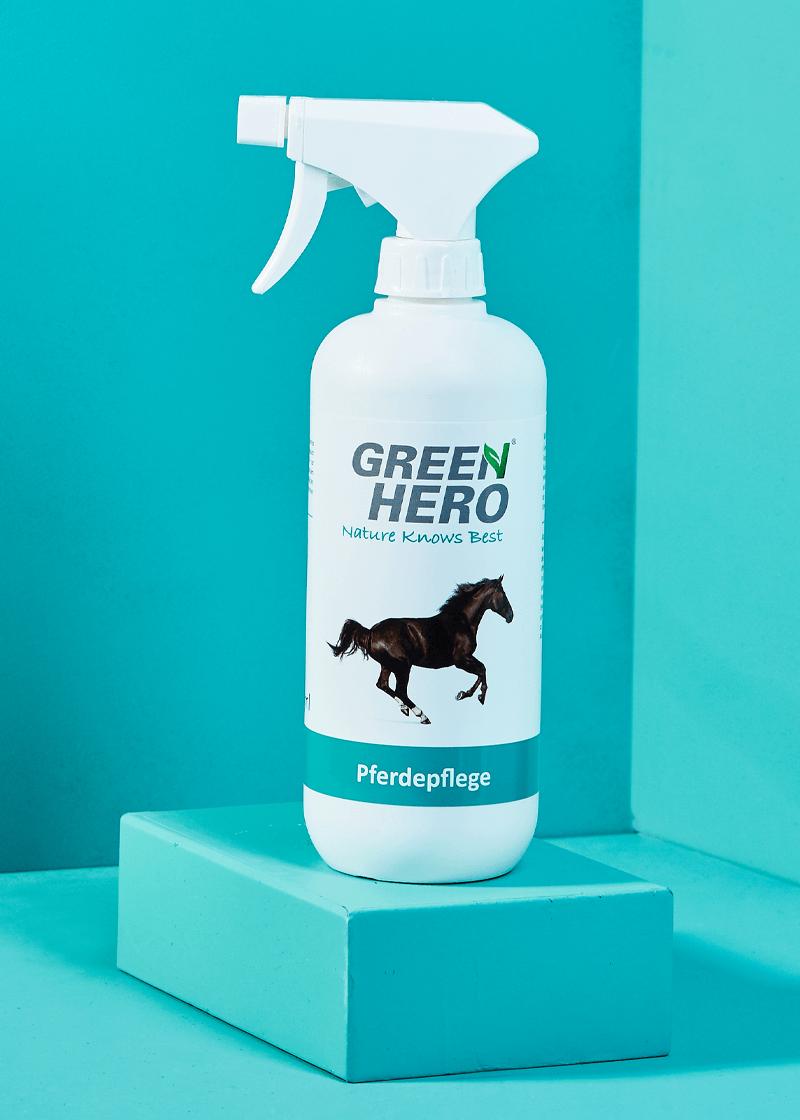 Pferdepflege pflegt die Haut bei Juckreiz, Milben und Ekzemen