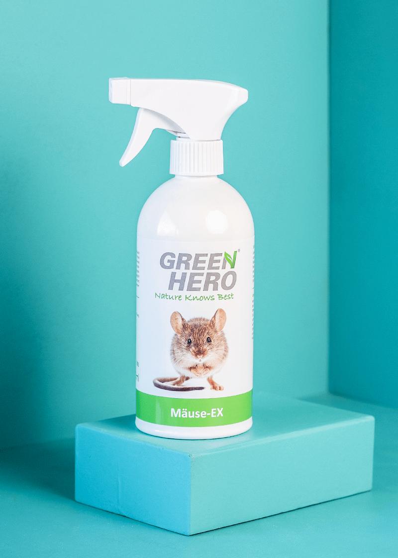 Mäuse-Ex Spray zur Mäuseabwehr in Haus, Garten und Balkon