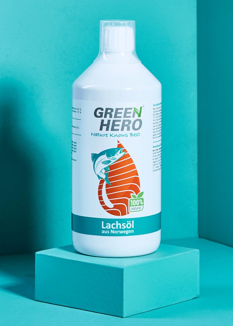 GreenHero® Lachsöl 1000 ml