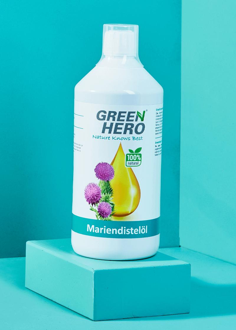 GreenHero® Mariendistelöl 1000 ml