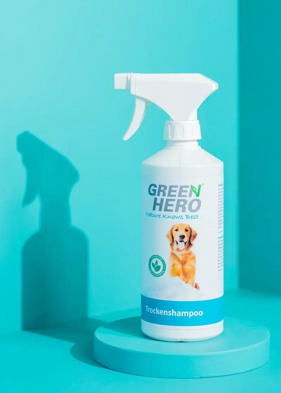 Trockenshampoo für Hunde